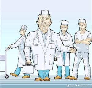Серьезный доктор